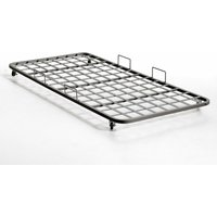 Pocus Industrial Style Steel Trundle Bed
