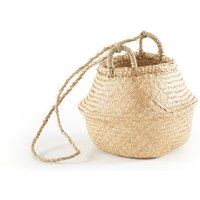 Rixy Collapsible Ball Hanging Straw Basket