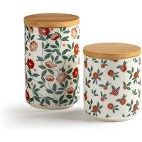 Set of 2 Louma Storage Jars