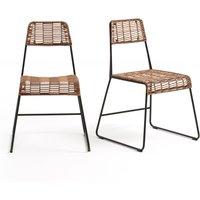 Set of 2 Rubis Garden Chairs