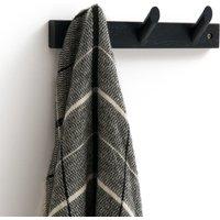 Slofia Solid Birch Coat Rack with 3 Hooks