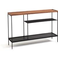 Tidder Walnut Console Table