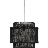 Yaku Ceiling Lampshade in Natural Hemp