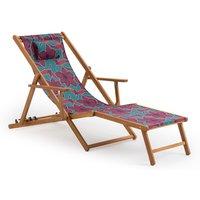 Azadeh Chilean Acacia Lounge Chair