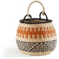 Friette Bell-Shaped Straw Basket