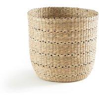 Keita Round Straw Basket