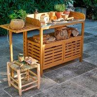 Wassif Acacia Garden Table