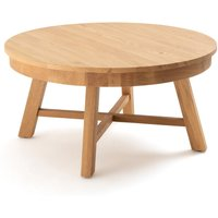 Zebarn Round Solid Oak Coffee Table